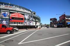 Wrigley stellen - Chicago Cubs auf Lizenzfreie Stockfotografie