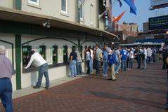 Wrigley stellen Cubs-Gebläse auf Lizenzfreies Stockfoto