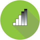 Wriless et icône de réseau Images stock