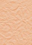 Wrinkle Background orange Royalty Free Stock Images