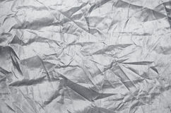 Wrinkle nylon sheet texture Stock Image