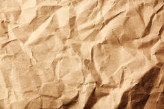 Wrinkle old paper Royalty Free Stock Image