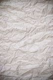 Wrinkle recycle paper texture Royalty Free Stock Photo