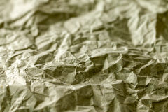 Wrinkle recycle paper texture Stock Photos