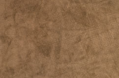 Wrinkle surface of brown Velvet Royalty Free Stock Images