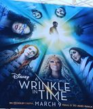 A Wrinkle In Time billboard Stock Images