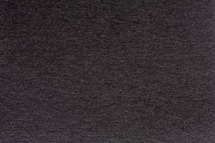 Wrinkled black paper texture or background made from paper. Stock Images