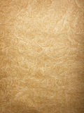 Wrinkled Brown Paper Background Stock Photo