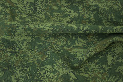 Wrinkled camouflage fabric Royalty Free Stock Photography