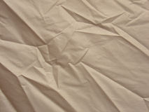 Wrinkled canvas background Stock Photo