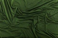 Wrinkled Velvet Cloth Texture Background stock photo