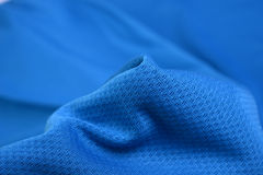 Wrinkled clothing fabric Stock Photography