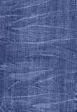 Wrinkled denim jeans Royalty Free Stock Photography