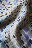 Wrinkled Fabric. A wrinkled piece of fabric with retro design Stock Images
