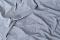 Wrinkled fabric texture Stock Photography