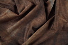 Wrinkled fabric tissue Royalty Free Stock Images