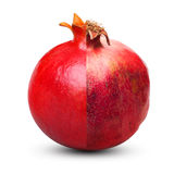Wrinkled and fresh pomegranate Stock Photography