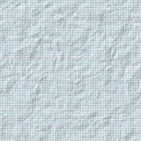 Wrinkled graph paper Royalty Free Stock Photography