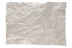 Wrinkled gray page royalty free stock photography