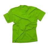 Wrinkled Green Tshirt Royalty Free Stock Photo