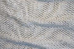 Wrinkled ha tricottato la struttura di lana Fotografie Stock