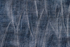 Wrinkled of jean Stock Photos