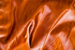 Wrinkled  leather Stock Photography