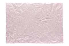 Wrinkled light pink page royalty free stock images