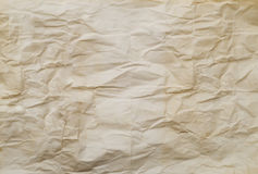 Wrinkled old paper Royalty Free Stock Photos