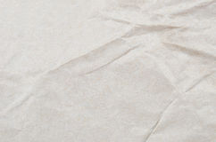 Wrinkled packaging paper background Stock Photo
