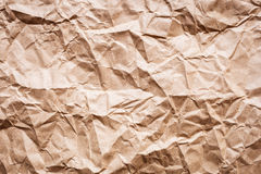 Wrinkled pape Stock Images