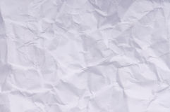 Wrinkled paper. Old wrinkled paper as a background Stock Photography