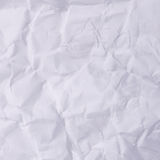 Wrinkled paper. Old wrinkled paper as a background Royalty Free Stock Image