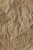 Crumpled Paper Bag Background Stock Photos