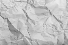 Wrinkled Paper Stock Image