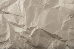 Wrinkled paper as a background Stock Images