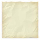 Wrinkled Paper Background 2 - Sepia. A sepia-toned, wrinkled piece of paper background for slides, brochures and presentations Royalty Free Stock Image