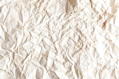 Wrinkled paper background. Royalty Free Stock Photography