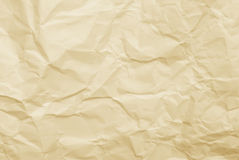 Wrinkled paper background Royalty Free Stock Photos