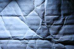 Wrinkled paper background Stock Photos