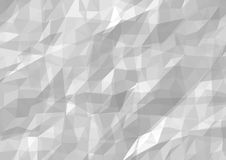 Wrinkled Paper Background. Abstract Textured Illustration, Vector Stock Photography