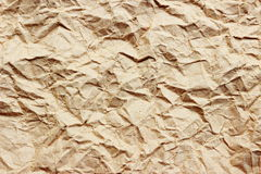 Wrinkled paper  background. Stock Images