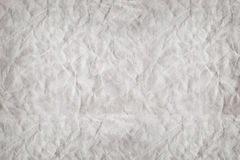 Wrinkled paper background image. Royalty Free Stock Photography