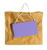 Wrinkled  paper bag Royalty Free Stock Image