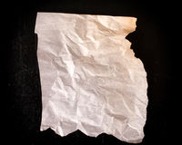 Wrinkled paper Royalty Free Stock Photos