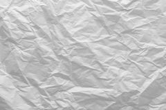 Wrinkled paper close-up Royalty Free Stock Photos