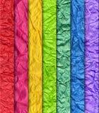 Wrinkled paper design Stock Images