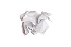 Wrinkled paper Stock Image