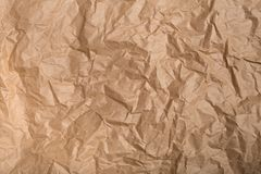 Wrinkled paper texture royalty free stock photo