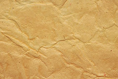 Wrinkled paper texture Royalty Free Stock Photos